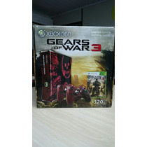 Xbox 360 Limited Edition Gears Of War 3 Estado De Novo.