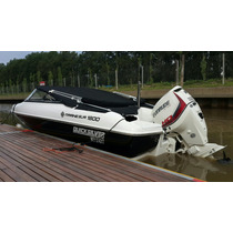 Lancha Quicksilver 1800 Evinrude 135 Ho Impecable 13 Hs!!
