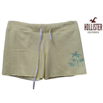 Short Bermuda Hollister Feminina Moletom Frete Gratis