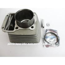 Kit Cilindro Pistão E Anéis Dafra Speed 150 Garcia Japan Bik