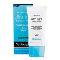 Neutrogena Ultra-light Hidratante Facial Fps30 Peles Mistas