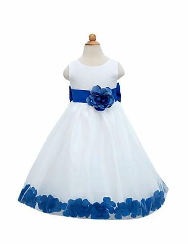 Vestidos de fiesta para nina azul rey