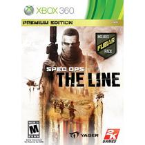 Spec Ops The Line Premium Edition / Xbox 360 - Novo Lacrado!