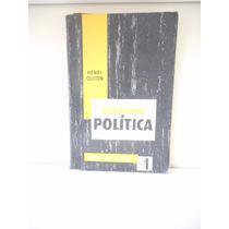 Livro Economia Política - Henri Guitton , Trad. Oscar Dias C