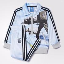 Conjunto De Bebé Adidas Star Wars. Original Importado.