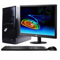 Paquete Cibercafe Elite 5 Pcs Intel Dual + Accesorios #c Flr
