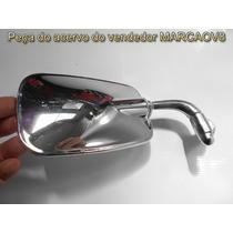 Espelhor Retrovisor Cromado Modelo Mexicano Para Fusca Direi