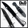 Cuchillo Militar Rambo Supervivencia Metal Piedra Afilar