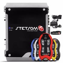 Módulo Stetsom Hl-800.4 Digital 800w 4 Canais + Controle Sx2