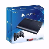 Ps3 500 Gb Nueva Ultra/super Slim + Joystick + Juego + Hdmi