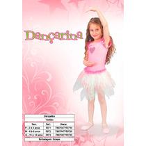 Fantasia Infantil Bailarina/ Dançarina Sidnyl