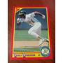 Rickey Henderson - Atleticos Oakland - Mlb - 1990