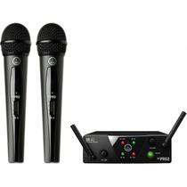 Microfone Duplo S/ Fio Akg Wms 40 Pro Dual Mini
