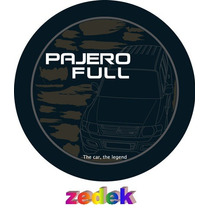Capa Roda Estepe Pajero Full- Personalizada, Camuflada