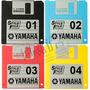 5 Disquetes C\ Ritmos Novos Teclados Yamaha - Frete Gratis!
