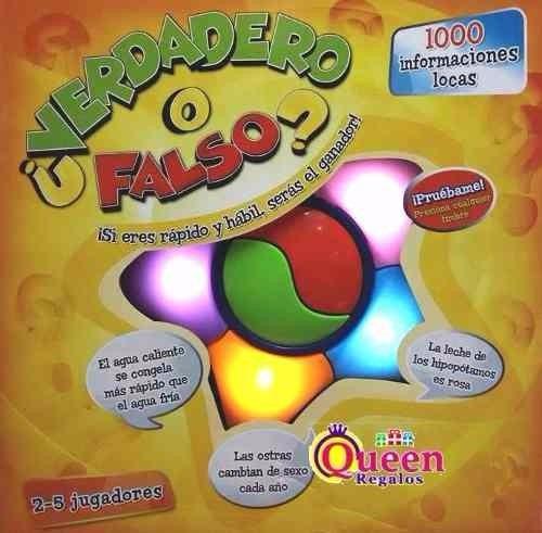 Juego De Mesa Verdadero O Falso Original Next Point 899 00 En
