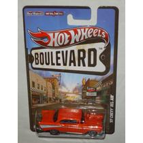 Hot Wheels Boulevard 57 Chevy Bel Air Llantas De Goma