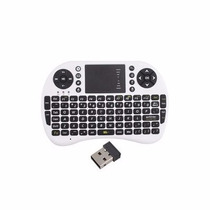 Mini Teclado Sem Fio C/ Touchpad Para Pc, Tv Ps3, Xbox360