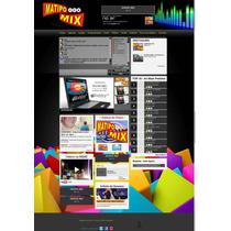 Site Para Webradios - Radio Online, Com Xat -v2014 100% Php
