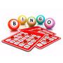 Bingo Grande Juego Mesa Familiar 100 Cartones + 75 Fichas