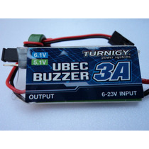 Super Ubec Turnigy 3a Com Alarme De Bateria Fraca (buzzer)