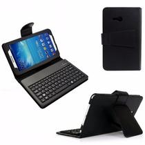 Capa Case Couro Teclado Samsung 7.0 Galaxy Tab 3, T110, T111