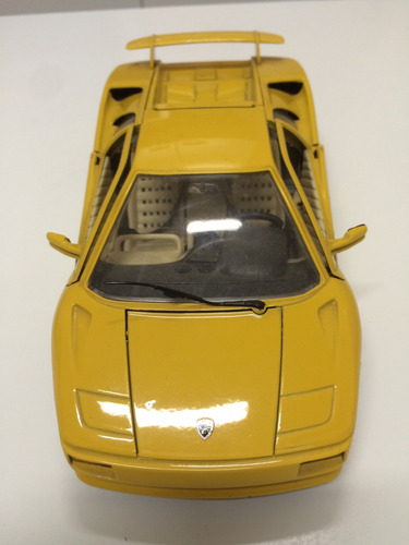 Lamborghini Diablo 1990 Bburago 1 18 R 109 00 Em Mercado Livre