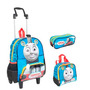 Kit Mochila Thomas & Friends ( M )+ Lancheira + Estojo Duplo