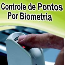 Controle Ponto Acesso Biometria - Software - Promoção!!!