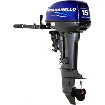 Motor De Popa Maranello 15 Hp Mecânica Yamaha 1 Ano Garantia