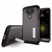 Funda Spigen Lg G5 Tough Armor - Gunmetal
