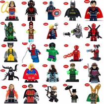Lego Compativel Vingadores Super Herois Marvel Dc