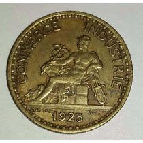 Moneda Francia 1925 Bon Pour 1 Franc Chambres Commerce *012.