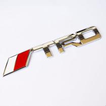 Acessório Toyota Emblema Trd Para Grade Hilux Rav4 Corolla