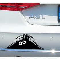 Adesivo Para Carro Moto Olho De Monstro Alta Qualidade