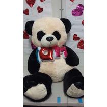 Oso Panda De Peluche Gigante 1.6 Metros Grande Regalo