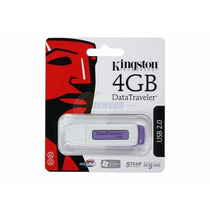 Kingston Datatraveler 4 Gb Usb 2.0 Flash / Pen Drive Dti/2gb
