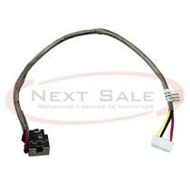 Ficha Dc Pin De Carga Con Cable Hp Dv7-1000 Serie Zona Norte