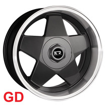 Roda Borbet K56 Aro 17x8,5 5x100/112 Gd Golf Jetta Polo Fox