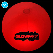 Ball Glow In The Dark Pelota Para Eventos Y Playa Neon