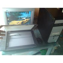 Computadora Monitor, Tecalado, Mouse E Impresora Multifunc