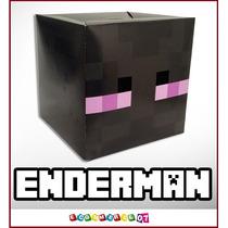 Minecraft - Enderman Cabeza Tamaño Real! E-commerce07