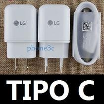 Cargador Turbo Lg Tipo C Nexus 5x Lg G5 Qualcomm Fast Charge