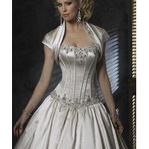 Vestido De Noiva - Cor Marfim
