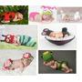 Newborns Menino E Meninas Conjuntos E Toucas - Art Crochê