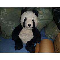 Urso Panda Pelucia Maritel Usado 45 Cm