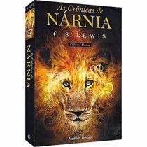 Livro - As Crônicas De Nárnia (volume Único) -novo - Lacrado