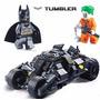 Tumbler Batmóvel Batman Coringa Tanque 325 Peças = Lego