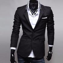 Blazer Moda Japonesa Saco Slim Fit Entrega Inmediata Gratis!