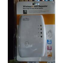 Repetidor Amplificador De Señal Wifi 300mbps 2dbi Wireless N